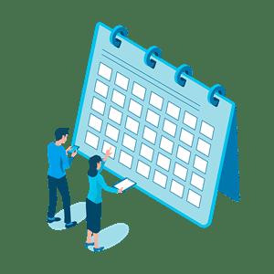 転職時期のタイミングとスケジュールを考える